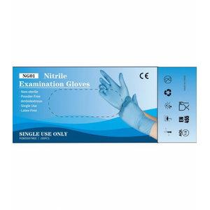 Kindad, nitriil, puudrita, ühekordsed, Gloves Pro®