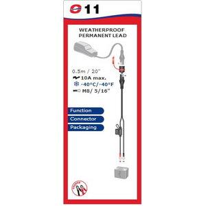 Ūdensizturīgs akumulatora kabelis M8, Tecmate