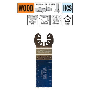 Multi-cutter blade for wood 28mm Z18TPI HCS, CMT