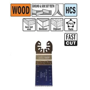 Multitööriista tera puidule 34mm Z14TPI Precision cut HCS, CMT