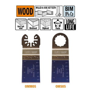 34mm Extra-Long Life Plunge and Flush-Cut for Wood, CMT