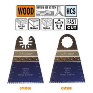 Multitööriista tera puidule 68mm Z14TPI Precision cut HCS, CMT