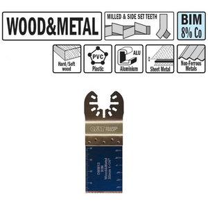 Multitööriista tera puidule ja metallile 32mm Z18TPI BiM Co8, CMT
