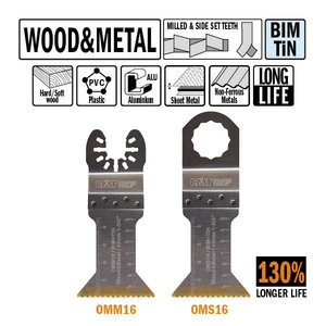 45mm Extra-Long Life Plunge and Flush-Cut for Wood and Metal, CMT