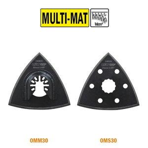 Multitööriista lihvtald, kolmnurk 93mm Velcro, CMT