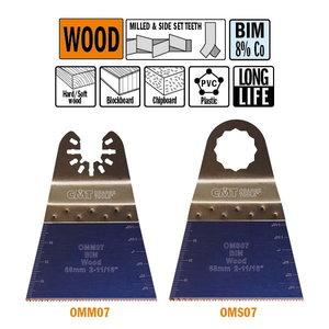 Multitööriista tera 68 mm, BiM, CMT