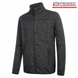 Džemperis megztas Ontario tamsiai  pilka, Pesso