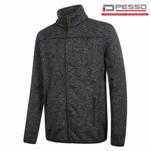 Džemperis megztas Ontario tamsiai  pilka XL, Pesso