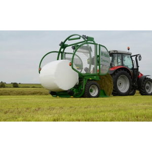 Orbital High Speed Round Bale Wrapper, Mchale