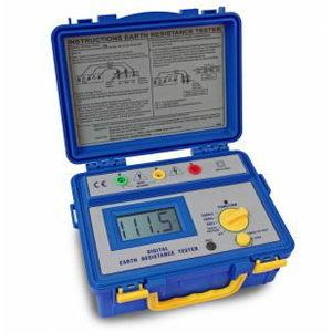 Digital earth resistance tester, 3 1/2-digit, PeakTech