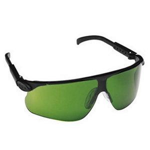 Kaitseprillid keevitajale Maxim, UV DIN3, DX-kate, roheline