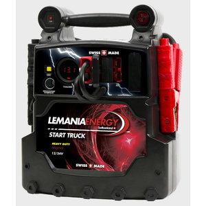 Automobilių užvedėjas HD P21 12V/24 2x22Ah 2500/5000A(P), Lemania