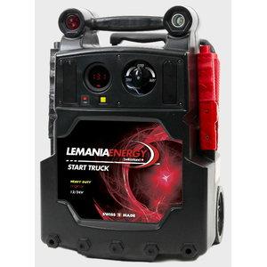 Automobilių užvedėjas HD P21 12V/24 2x25Ah 3100/6200A(P), Lemania