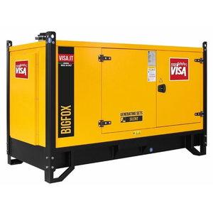 Generatorius VISA 30 kVA P30 FOX, ATS, su pagrindu