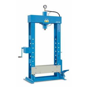Hydraulic press 30T with foot pump, OMCN