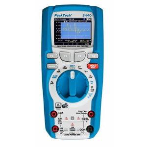 Graafiline multimeeter, andmelogeri ja Bluetooth-liidesega, PeakTech