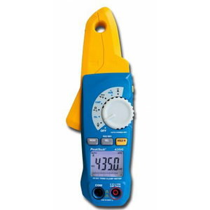 Skaitmeninės matavimo 1 mA rezoliucija, 17 mm, CAT III 600 V, PeakTech