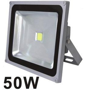 LED prožektors ar sienas stiprinājumu 50W, IP66, Sled