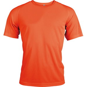 T-särk  Kariban Proact kõrgnähtav, oranz XL