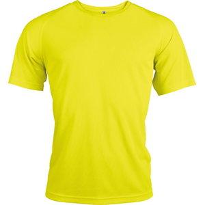 T-särk  Kariban Proact kõrgnähtav, kollane XL