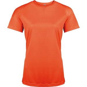 Kõrgnähtav särk Kariban Proact naistele oranz