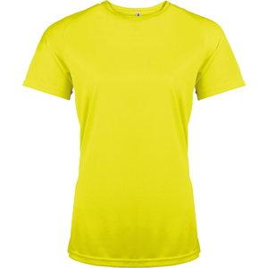 T-särk Kariban Proact naiste kõrgnähtav, kollane L