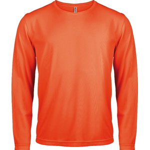 Kõrgnähtav särk pikkade käistega Kariban Proact oranž L