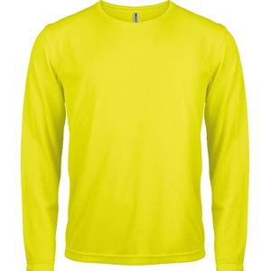 Kõrgnähtav särk pikkade käistega Kariban Proact kollane 2XL
