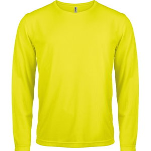 High-Visibility shirt with long sleeves Proact yellow