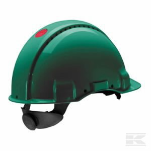 Helmet G3000CUV-GP with Uvicator, green H001674700, 3M