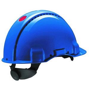 Peltor Uvicator button adjustable helmet blue G3000NUV-BB, 3M