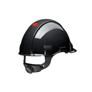 3M Peltor šalmas su sint.galvos juosta, juodas G3000NUV-SV