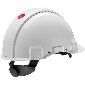 Peltor G3000NUV-VI Uvicator reguliuojamas šalmas, baltas XH001675202, 3M