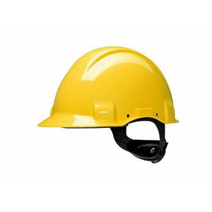 Helmet ith el. isolation, without ventilation, yellow G3001M, 3M