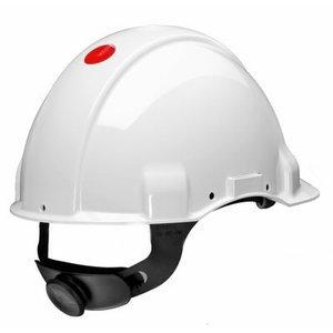 Kaitsekiiver el. isolatsiooniga, ventileerimata, valge G3001MUV1000V-V, 3M
