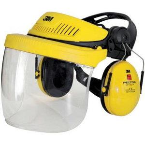 visior set industrial Optime1, V5F, yellow, 3M