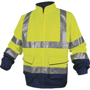 Kõrgnähtav jakk PHVE2 kollane/sinine, Delta Plus