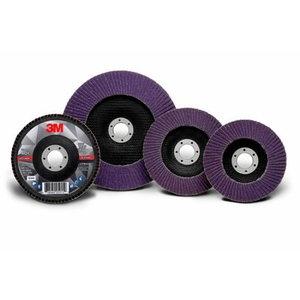 Diskas vėduoklinis 125x22mm P60+ 769F kūginis
