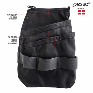 Hanging pockets for Tools,  trousers, right side, Pesso