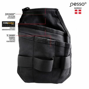 Hanging pockets for  trousers, Cordura, left side STD, Pesso
