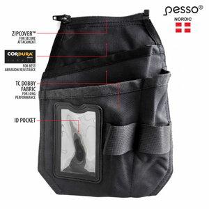 Ripptaskud Pesso pükstele, ID-tasku, Cordura, paremale poole