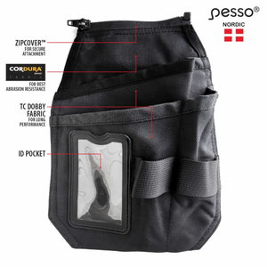 Hanging pockets for  trousers, Cordura, right side, Pesso