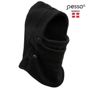 Balaclaca , fleece, black, Pesso