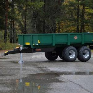 Dump trailer Palmse PT800, PALMSE