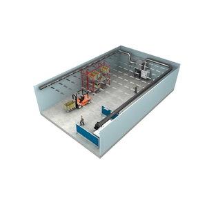 Suvirinimo dūmų filtravimo sistema Push-Pull, Plymovent