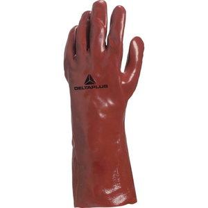 Oderēti PVC cimdi, garums 35 cm, Delta Plus