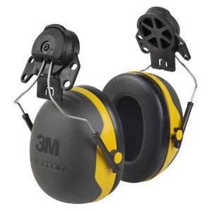 3M X serijos ausinės X2P3E-GU su tvirtinimu prie šalmo, 3M