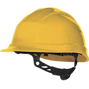 Kaitsekiiver, nupust reguleeritav, kollane, Delta Plus