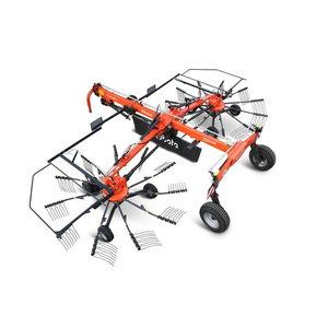 Dviejų rotorių grėblys  RA 2076, Kubota