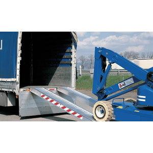 Alu-loading ramp 4000kg 400cmx40cm, Svelt